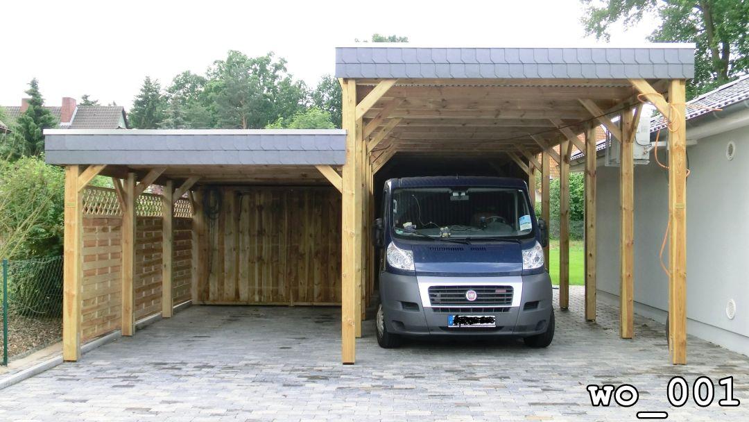Gut gemocht CD Marken-Carport - Wohnmobil & Caravan Carports ZF88