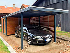 Metal&Wood Design Carport